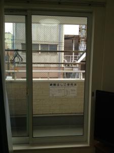 0108施工後,ガラス修理,大阪市平野区
