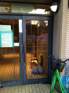 0110施工後,ガラス修理,大阪市生野区B
