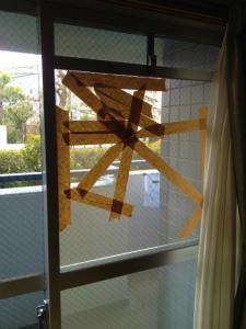 0123施工前,ガラス交換,修理,大阪市東淀川区