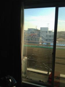 0128施工前,ガラス修理,吹田市