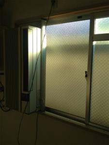 0129施工後,ガラス修理,大阪市住之江区