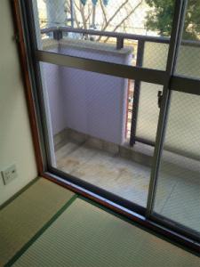 0201施工後,ガラス修理,大阪市鶴見区