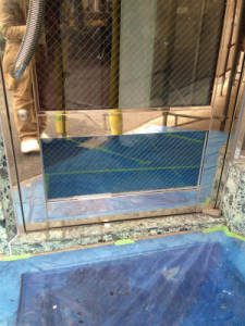 0203施工後,ガラス修理,大阪市東淀川区