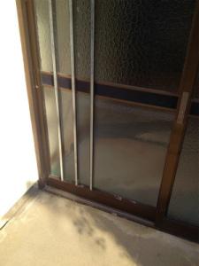 0205施工後,ガラス修理,豊中市