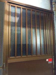 0201施工後,ガラス交換,修理,吹田市