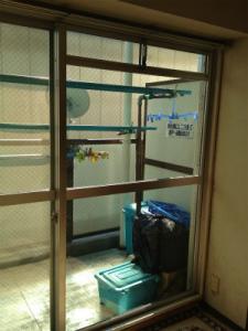 0129施工後1,ガラス修理,八尾市