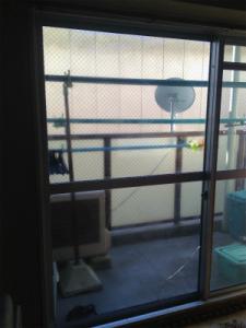 0129施工前2,ガラス修理,八尾市