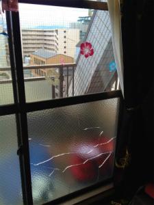 0213施工前,ガラス交換,修理,大阪市東淀川区