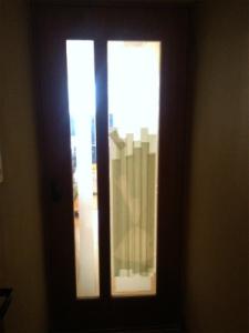 0210施工前,ガラス修理,堺市東区