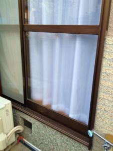 0212施工後,ガラス修理,大阪市平野区