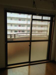0203施工後,ガラス修理,大阪市天王寺区