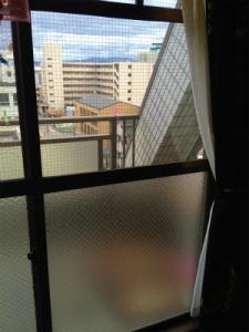 0213施工後,ガラス交換,修理,大阪市東淀川区