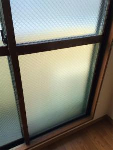 0212施工後,ガラス修理,高槻市