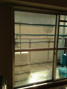0129施工後2,ガラス修理,八尾市