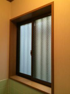 0306施工後,ガラス修理,大阪市平野区