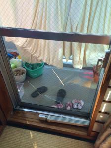 0220施工前,ガラス修理,大阪市東淀川区