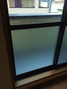 0304施工後,ガラス修理,泉佐野市