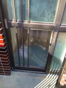 0303施工後1,ガラス修理,池田市