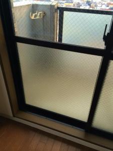 0228施工後,ガラス修理,大阪市福島区