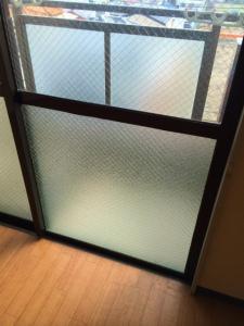 0228施工後,ガラス修理,門真市