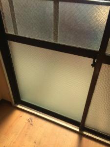 0224施工後,ガラス修理,大阪市西区