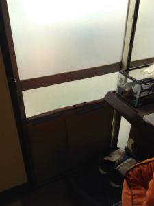03.06施工前,ガラス交換,修理,松原市