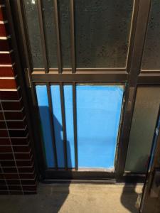 0303施工前1,ガラス修理,池田市