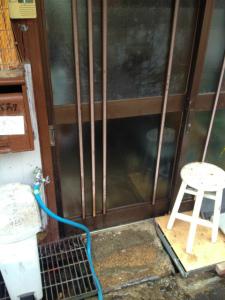 0305施工後,ガラス交換,修理,大阪市大正区