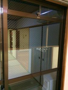 0303施工後,ガラス修理,貝塚市
