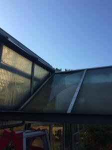 0312施工前,ガラス修理,堺市堺区
