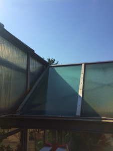 0312施工後,ガラス修理,堺市堺区